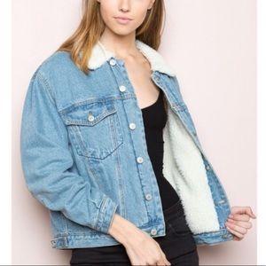 Brandy Melville Shaine Denim Jacket